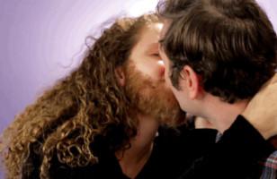 Women Get Fake Beards So Their BFs Can Feel A Bearded Kiss