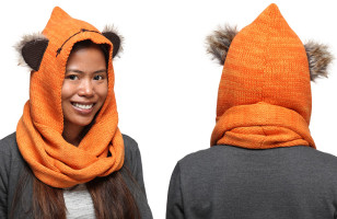 The Cozy Ewok Scarf Is Quite Possibly The Cutest Scarf There Is