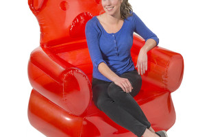 The Giant Inflatable Gummi Bear Chair You've Always Dreamed Of