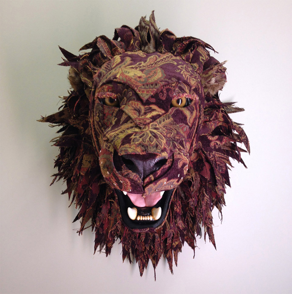 upholstered-faux-taxidermy-animal-head-wall-mounts-6