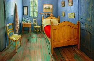 Check Out Van Gogh's Room IRL, Available To Rent On Airbnb