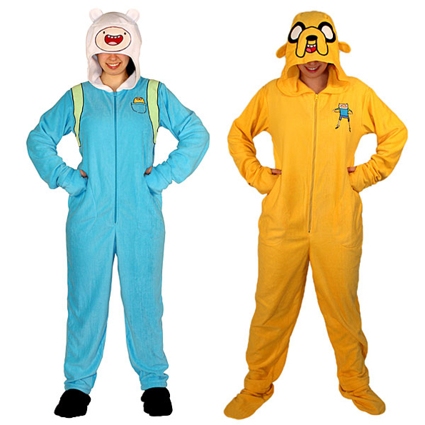 adventure-time-footie-pajamas