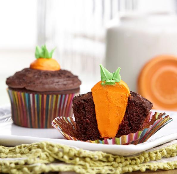 carrot-garden-easter-cupcake