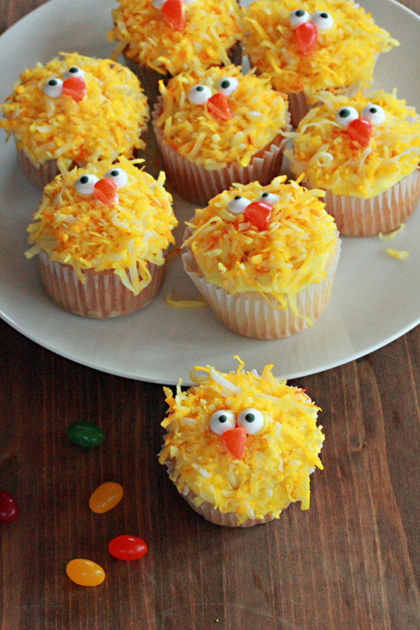 easter-chick-cupcakes
