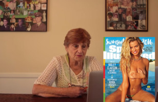 A Grandma Reacts To Seeing Sports Illustrated Models
