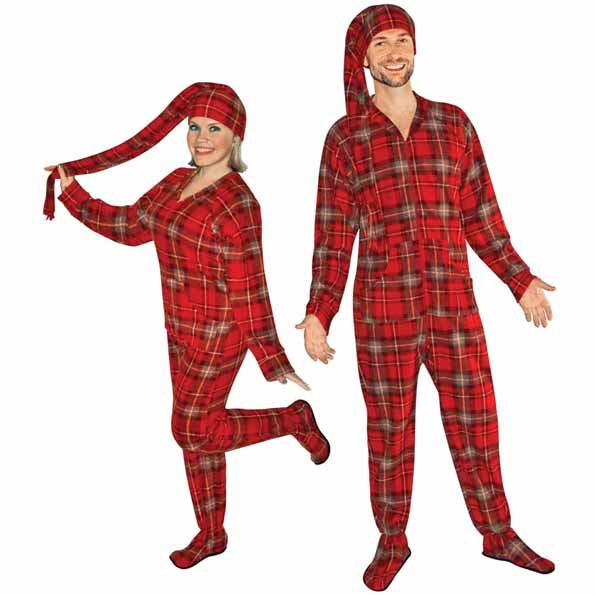 lumberjack-footie-pajamas-with-stocking