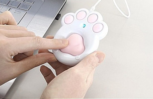 A Computer Mouse That Looks Like A Puppy Or Kitten Paw