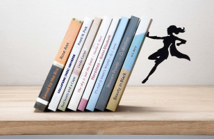 Superhero Bookends… Now With More GIRL POWER!