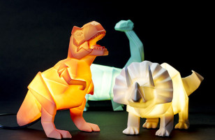 These Dinosaur Lamps Will Give You That Prehistoric Ambience You've Been Looking For