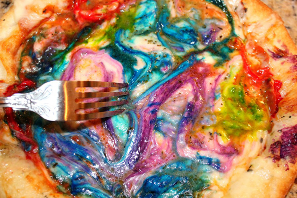 The Rainbow Pizza Is The Most Magical Pizza There Is