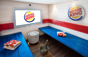 Now You Can Get Your Sweat On In The Burger King Sauna