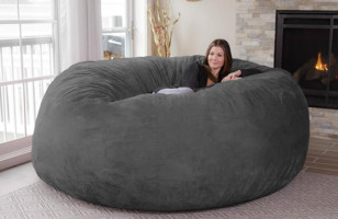 This Giant Bean Bag Is Where I Want To Live The Rest Of My Life