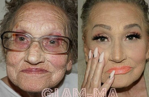 An 80-Year-Old Grandma Gets A Makeover & She Loves It