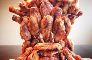 The Iron Throne Made Out Of Hot Wings For Some Reason