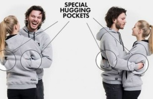 The Hugging Hoodie Has Pockets In The Back For Ultimate Hugs