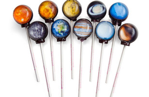 Hopefully These Planet Lollipops Do Not Taste Like Uranus