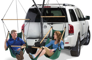 Tailgaters Will Appreciate This Double Hammock For Tailgating