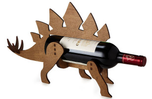 Store Your Prehistoric Wine In The Dinosaur Wine Bottle Holder