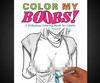 A Titillating Coloring Book For Adults