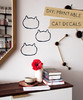 DIY Kitty Wall Decals Are The Cat's Pajamas