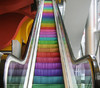 Where Does the Rainbow Escalator Lead?