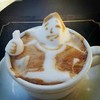 In-Your-Face Coffee: 3D Latte Art