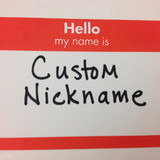 Get Your Custom Nickname