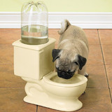 Toilet Water Bowl For Pets