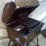 Treasure Chest BBQ Grill