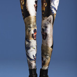 Laser Space Cat Leggings