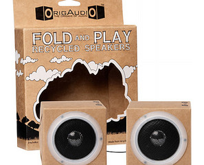 Fold & Play Recycled Speakers