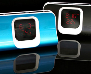 USB Hub – Thermo Alarm Clock