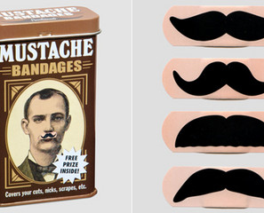 Don't Shave Without Mustache Bandages