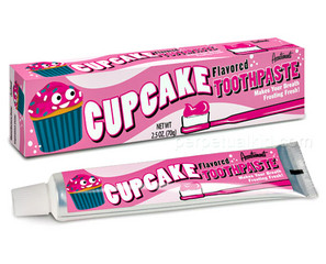 Cupcake Toothpaste, For a Trendy Bedtime Routine