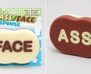 Ass/Face Sponge Keeps It Sanitary