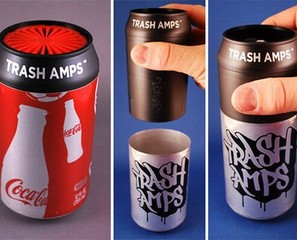 Trash Amp Turns Your Trash Into A Speaker