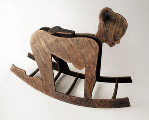 This Rocking Horse Is Not For Children