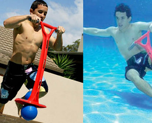 The UnderWater Pogo Stick