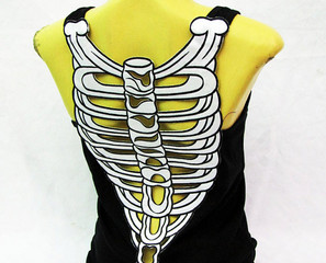 The Back Bone's Connected To The Shirt Bone