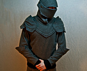 Urban Meets Medieval: Knight Armored Hoodie