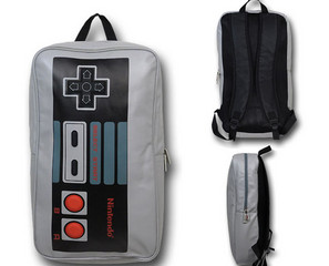 Hipster Kid Swag: Nintendo Controller Backpack