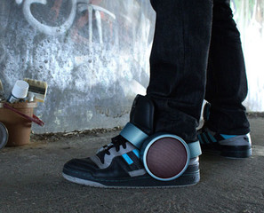 Speaker Sneakers For Jamming On The Go