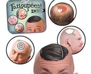 Tattoupees Are Temporary Tattoos Just For Baldies