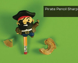 Pirate Peg Leg Pencil SharpenARRRR!