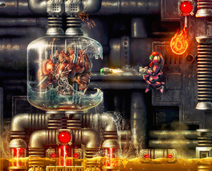 Artist Turns 16-Bit Super Metroid Screenshot Into High-Res Digital Painting