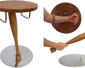 Who Needs A Gun When You Have The Self Defense Night Stand?