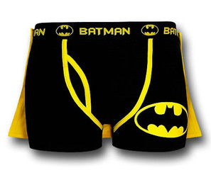 Batman Boxer Briefs With A Cape