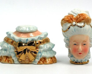 Marie Antoinette Salt & Pepper Shakers