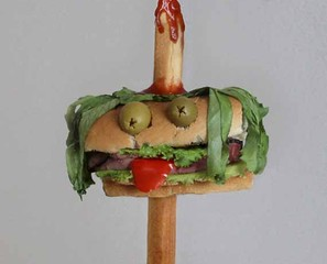 AHHHnomnom!: Sandwich Monsters