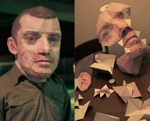 Big Head Papercraft